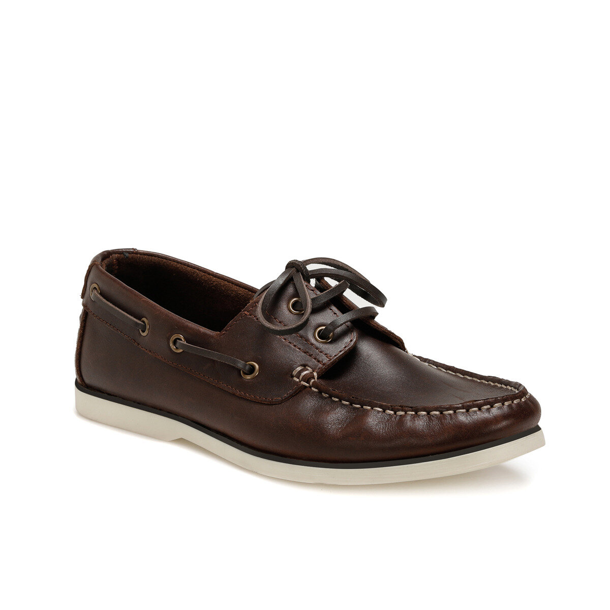 FLO MRB81 Brown Men Shoes Oxide