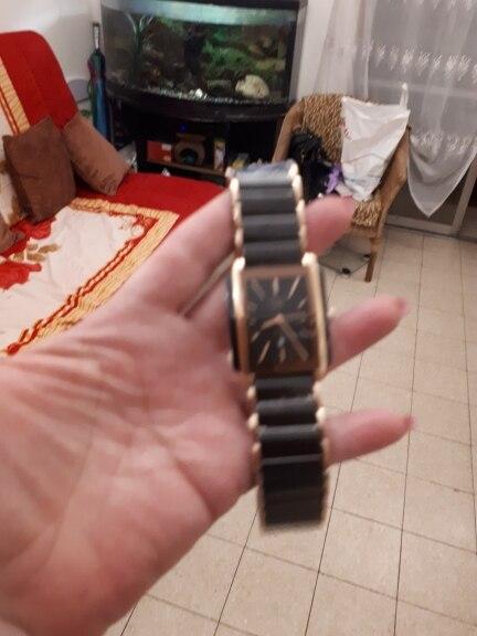 Relógios de quartzo relojes relojes quadrados