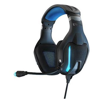 Gaming Headset with Microphone Energy Sistem ESG-5 3.5 mm LED Black