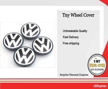 4 шт./компл. OEM 63/65 мм колпачок на обод колеса с логотипом ступицы колпачок значок для VW Volkswagen Jetta MK5 Golf passat 3 B7 601 171