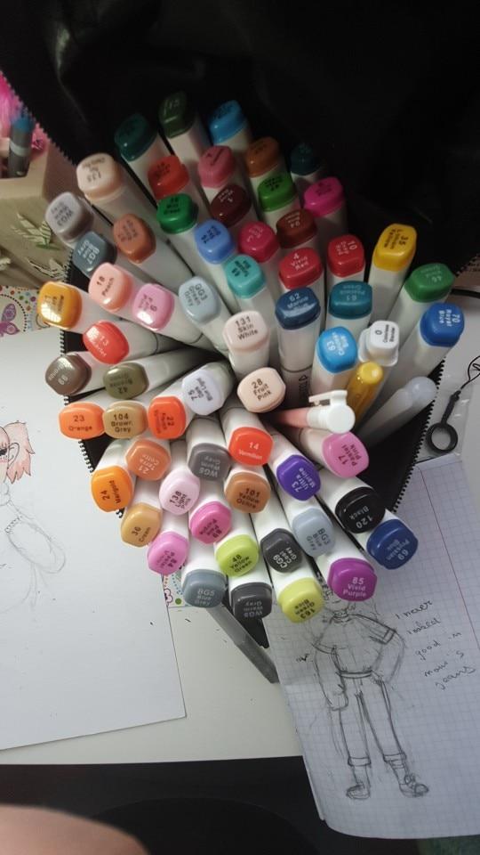 Marcadores da arte touchNovidade álcool marcador