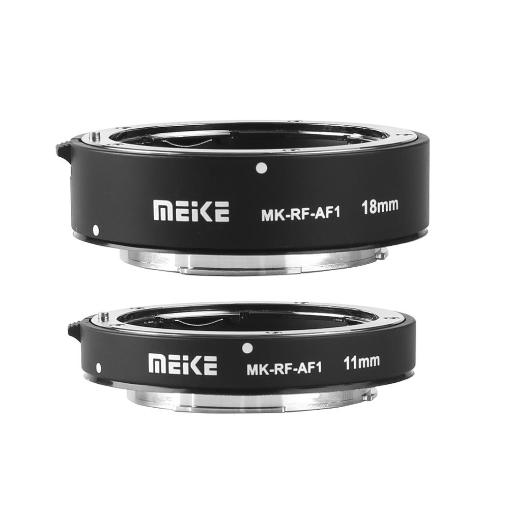 Image 5 - Meike MK RF AF1 Metal Auto Focus Macro Extension Tube Ring 11mm  18mm for Canon EOS R EOS RP RF SeriesLens Adapter