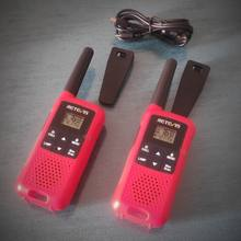 Free license Walkie Talkie couple for use in Spain. Sturdy construction in red plastic, sm