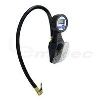 Lematec digital inflador de pneus com medidor de pressão para o carro auto caminhão motocicleta pneu inflar arma taiwan fez ferramenta pressão ar