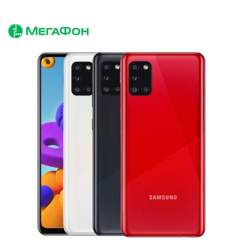 Смартфон Samsung Galaxy A31 4/128GB [Ростест, новый, SIM любых операторов, официальная гарантия]