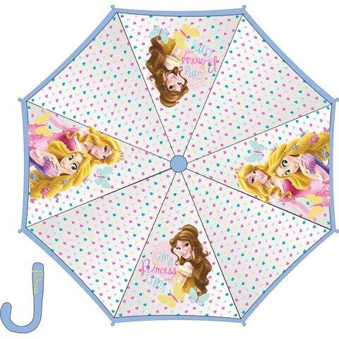 Paragua Transparent Hand Princesses 45 Cm.