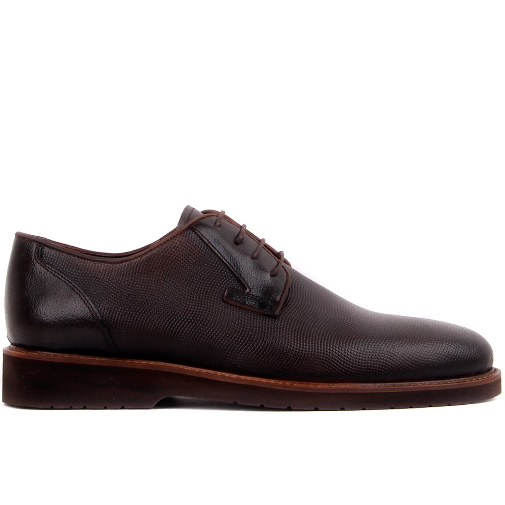 Timber Wolfe-Brown Leather Men 'S Casual Shoes