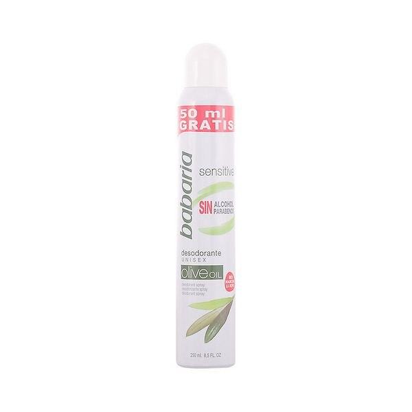 Spray Deodorant Sensitive Babaria (250 Ml)