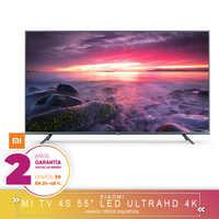 [Versión Garantía Española Oficial] Xiaomi mi TV Android Smart TV 4S 55 pulgadas 4K HDR TV de pantalla 2GB + 8GB Dolby DVB-T2