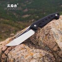 Sanrenmu S761 Feste Klinge Messer 8cr13 edelstahl Klinge Camping HuntingTactical SurvivalTool überleben edc mit mantel