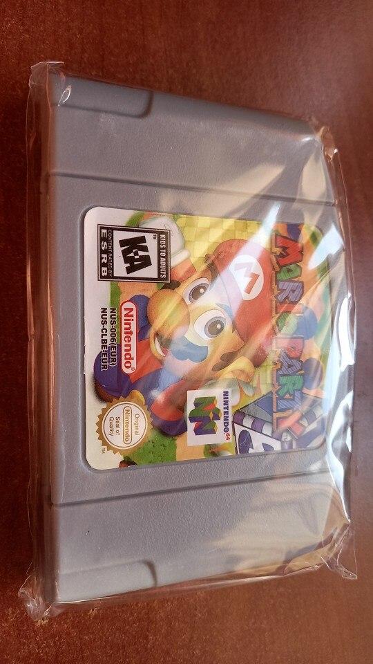 64 Bits Video Game Cartridge Games Console Card EU PAL Version For Nintendo photo review