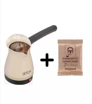 Sinbo turecki ekspres do kawy 100g elektryczny przenośny automatyczny ekspres do kawy musujące turecki kawy pyszne dzbanek do kawy tanie i dobre opinie NONE TR (pochodzenie)