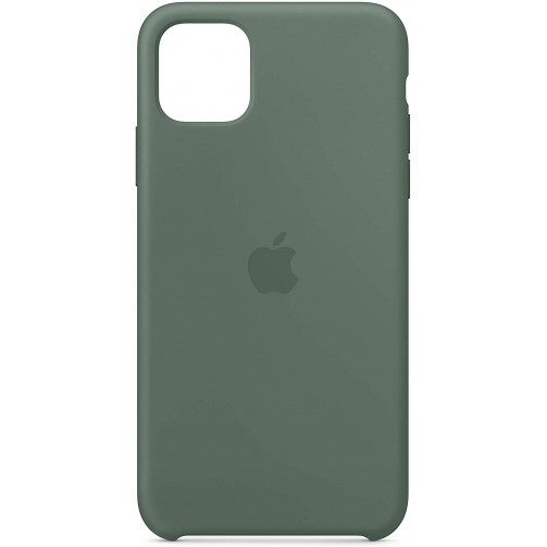 Funda verde pino Apple Silicone Case para iPhone 11 Pro