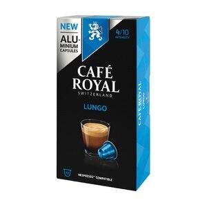 Lungo Cafe Royal 10 compatible Nespresso aluminum capsules