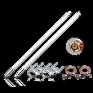 Image 1 - حزمة هوائي من الألياف الزجاجية 5.8dBi, هوائي لlora®+ قاعدة مغناطيسية هوائي