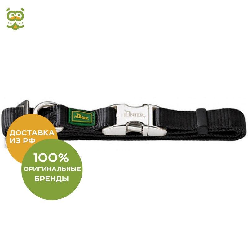 Hunter ALU-Strong collar for dogs, 30 - 45 cm., Black collar hunter convenience comfort for dogs 47 55 cm black