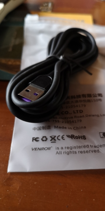 Venroii 5A USB Type C Cable 1m 2m 3m Fast Charging Type C Kable for Huawei P30 P20 Mate 20 Pro Phone Supercharge QC3.0 USBC Cabo Mobile Phone Cables     - AliExpress
