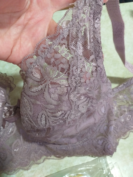 Push-Up Padded Floral Lace Bra