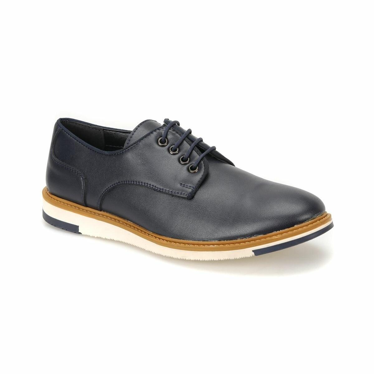 FLO 51066-1 Navy Blue Men 'S Classic Shoes JJ-Stiller