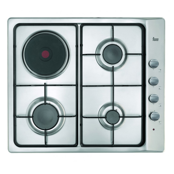 Gas Hob Teka E6033G1PAL 60 cm 60 cm Stainless steel (3 Stoves)|Cooktops| |  - title=