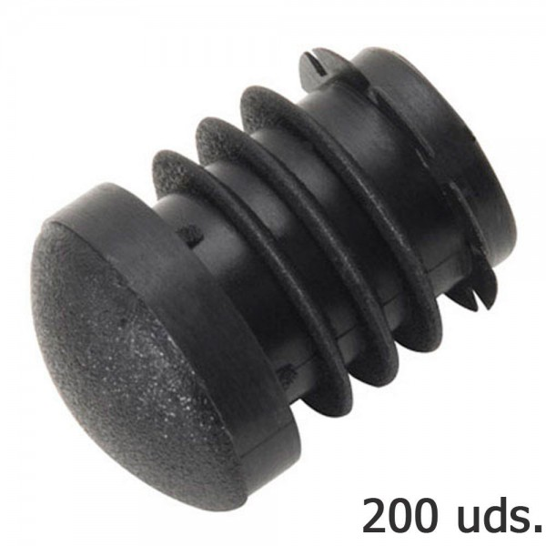 Cone Plastic Round Inner Black Outer Tube Ø 23mm. Bag 200 PCs