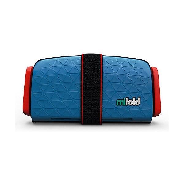 Siège auto-rehausseur Mifold 15-36 kg, denim bleu MTpromo