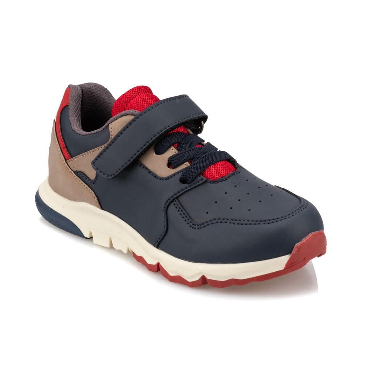 FLO 92.512043.F Navy Blue Male Child Sneaker Shoes Polaris