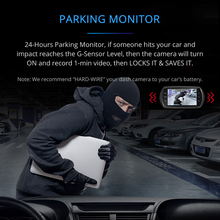 AZDOME M11 Mini Full HD1080P Dash Cam- IPS Screen Car DVR