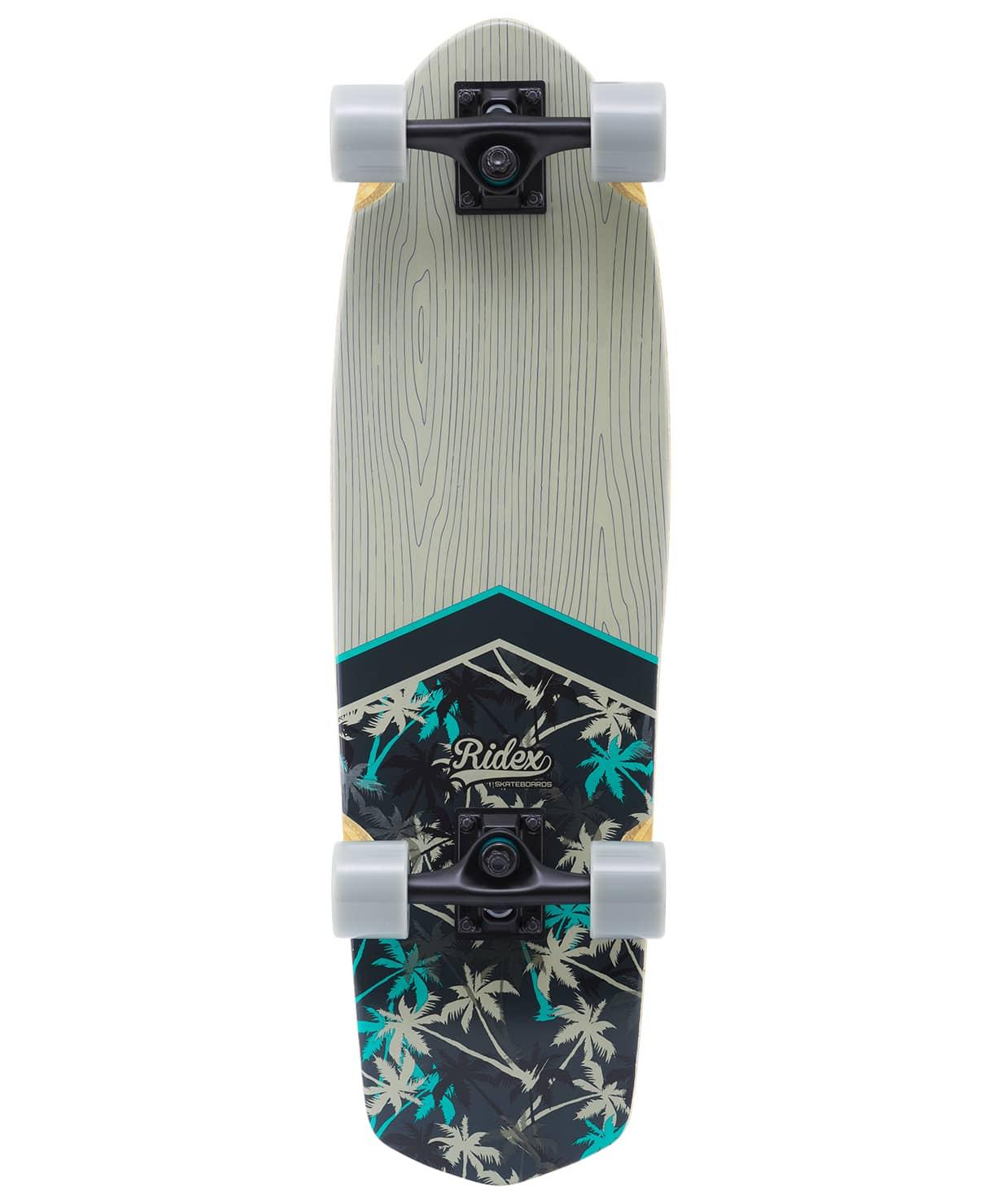 Skateboard Cruiser Wooden Ridex 28.5