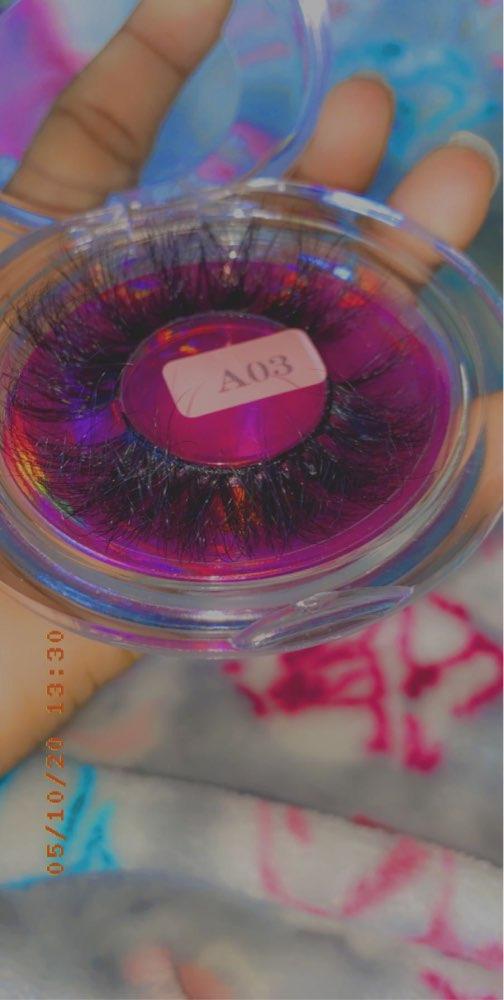RED SIREN Mink Eyelashes 25mm Lashes Fluffy Messy 3D False Eyelashes Dramatic Long Natural Lashes Wholesale Makeup Mink Lashes