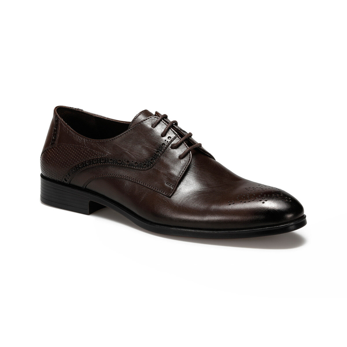 FLO ROLLING Brown Men Dress Shoes MERCEDES