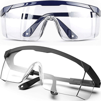 Очки для защиты от пыли, брызг, ветра лабораторные рабочие 1