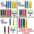 Epson 603XL 603 XL Упаковка 12 совместимых XP2100 XP2105 XP3100 XP3105 XP4100 XP4105 WF2830 WF2850 WF2835 WF-2830 WF-2850