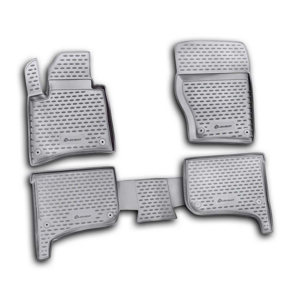 Floor mats for VW Touareg 2010 2015 2015 03/2018. NLC.51.31.210kh|  - title=