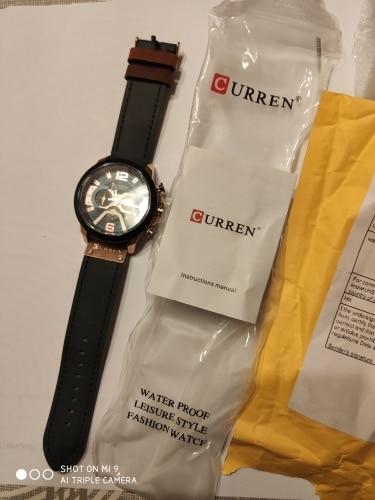Montre-bracelet sport pour homme luxe CURREN