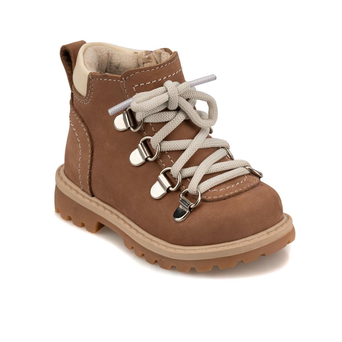 FLO 92.509544.I Sand Color Male Child Boots Polaris