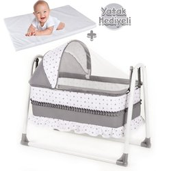 Bebegen Elite lit bébé à bascule Portable gris