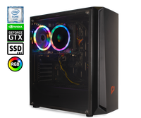 Системный блок e2e4 Pro Gamer Might, Intel Core i3 9100, 8Гб, 240Гб SSD, 1Тб HDD, GeForce GTX 1650, DOS, Pro Gamer Might