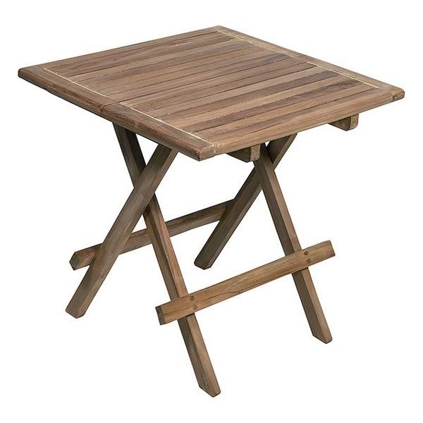 Folding Table (50 X 50 X 50 Cm) Teak
