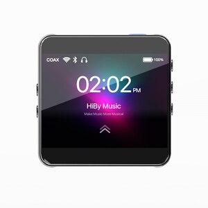 HiBy R2 MP3 сетевой потоковый музыкальный плеер нанимает без потерь цифровой аудио Tidal MQA 5Gwifi LDAC DSD веб-радио Bluetooth 5,0