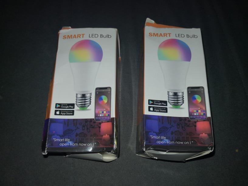 Lâmpadas LED e tubos Bluetooth Inteligente Lâmpada