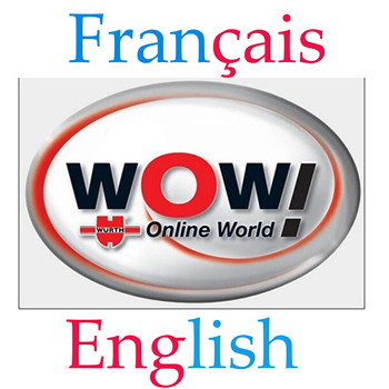 WOW 5.00.12 Wurth FR & ENG version with keygen Activation + gift WOW 5.00.8 Multi language