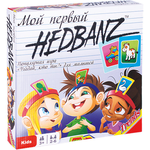 Board Game Trends First Hedbanz!!!!!