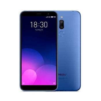 Перейти на Алиэкспресс и купить Meizu m6t синий 4g телефон с двумя sim-картами 5,7''