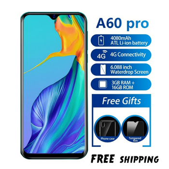 Blackview A60 Pro Phone Android 9.0 3GB RAM 16GB ROM Smartphone 6.088 Display Full Screen MT6761V Quad Core 8MP Mobile Phone  - buy with discount