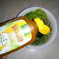 #太太乐鲜鸡汁芝麻香油#饺子汤面的做法图解7