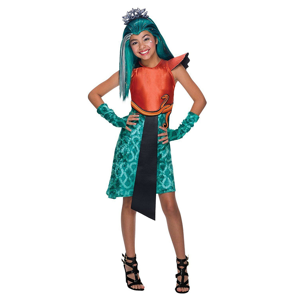 Carnival costume Rubies Monster High Нефера de Nile Boo York кукла elle eedee новые персонажи boo york monster high