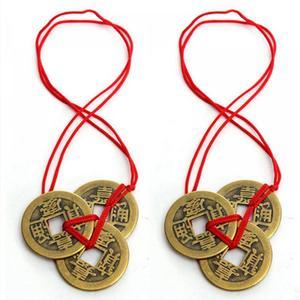 Neue Mode Alte 3 Chinesische Feng Shui Münzen Kreative Niedlichen Hause Dekoration Für Reichtum Und Erfolg Glück Dropshipping