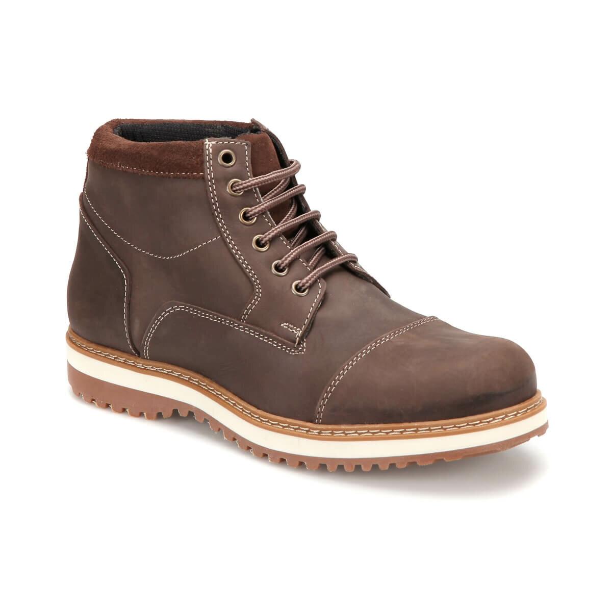 FLO 238 Black Men Boots Forester