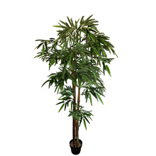 Artificial grass bamboo plant 130/160/180 cm high altitude with flower pot